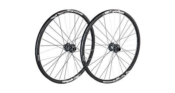 Spank Spike Race28 EVO wheelset 20mm + 12/150mm black